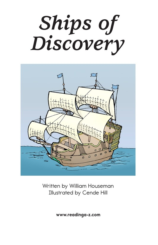 Book Preview For Ships of Discovery Page 2