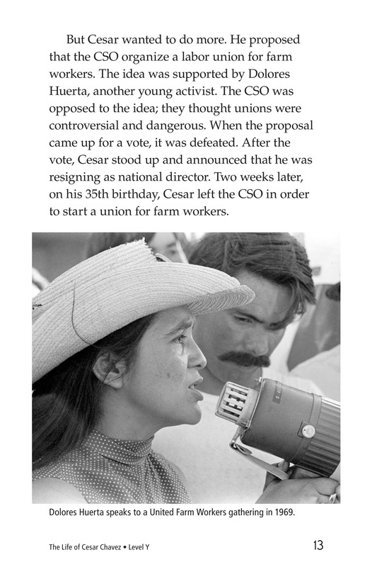 Book Preview For The Life of Cesar Chavez Page 13