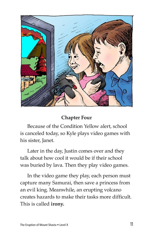 Book Preview For The Eruption of Mount Shasta Page 11
