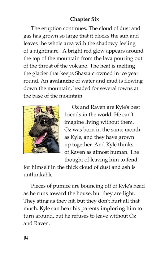 Book Preview For The Eruption of Mount Shasta Page 14