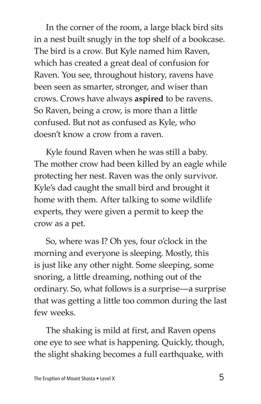 Book Preview For The Eruption of Mount Shasta Page 5