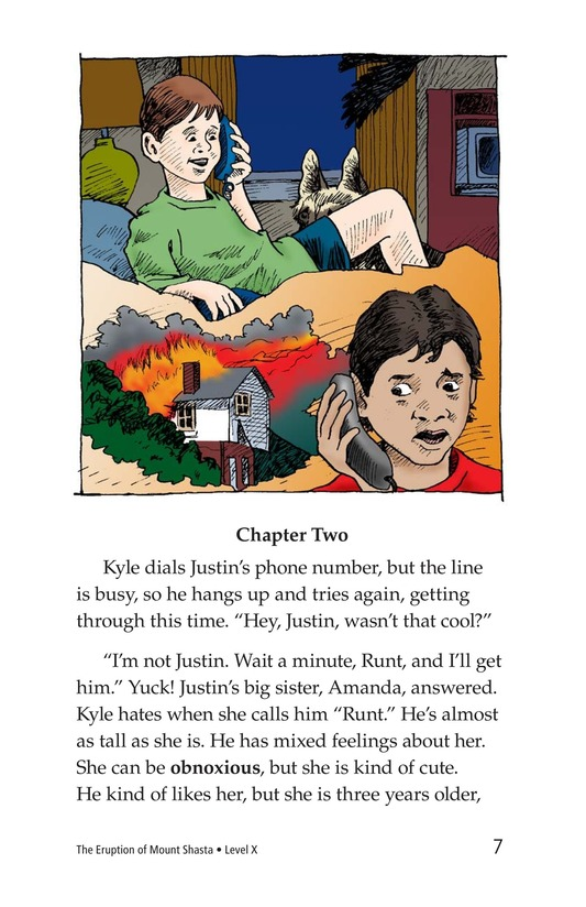 Book Preview For The Eruption of Mount Shasta Page 7
