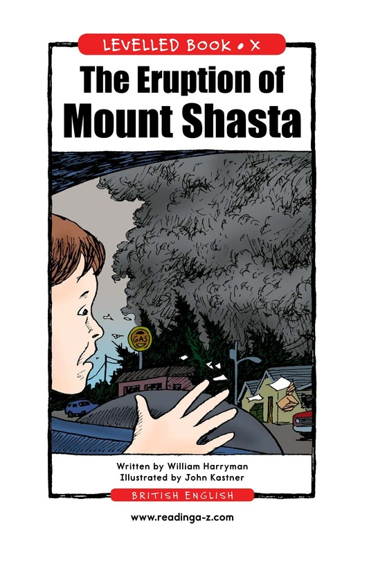 Book Preview For The Eruption of Mount Shasta Page 1