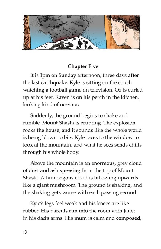 Book Preview For The Eruption of Mount Shasta Page 12