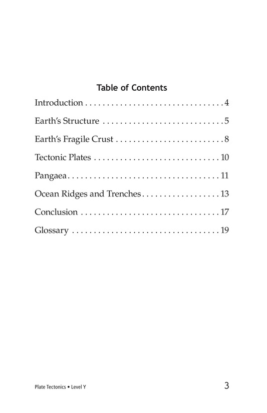 Book Preview For Plate Tectonics Page 3