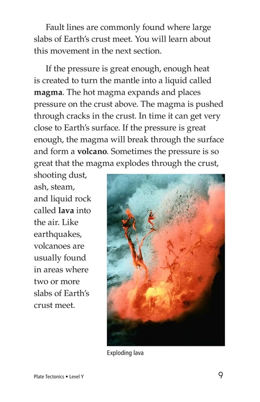 Book Preview For Plate Tectonics Page 9