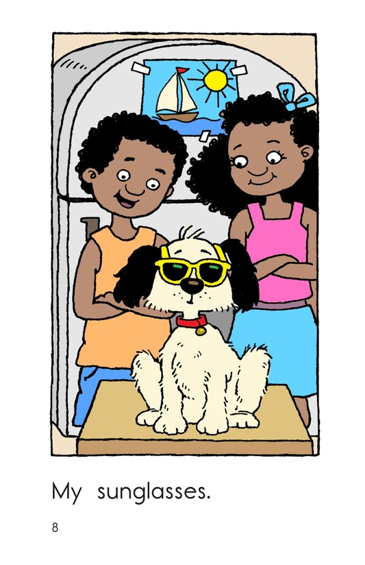 Book Preview For Fido Gets Dressed Page 8