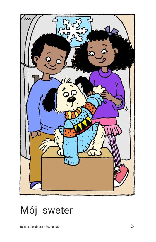 Book Preview For Fido Gets Dressed Page 3