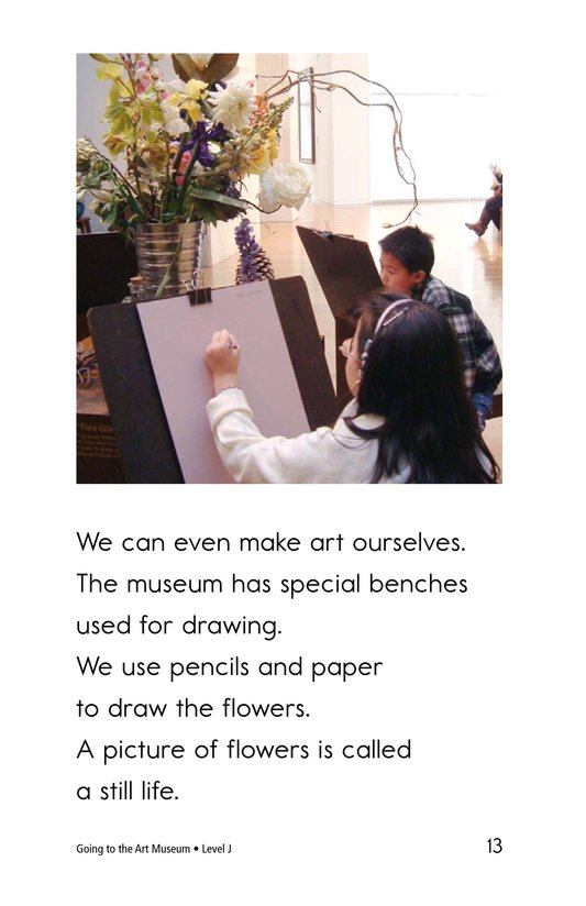 Book Preview For Going to the Art Museum Page 13