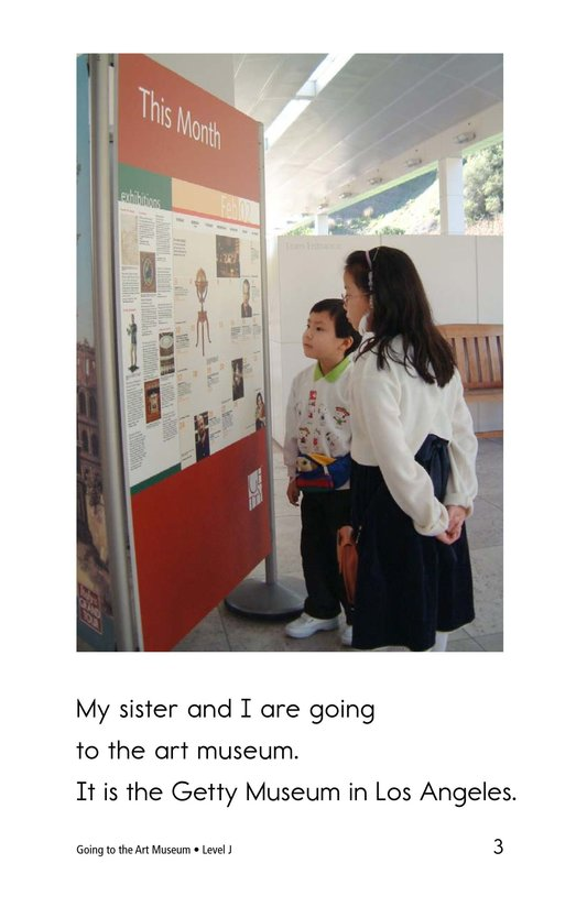 Book Preview For Going to the Art Museum Page 3