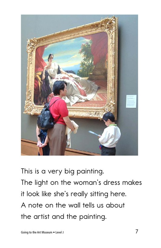 Book Preview For Going to the Art Museum Page 7