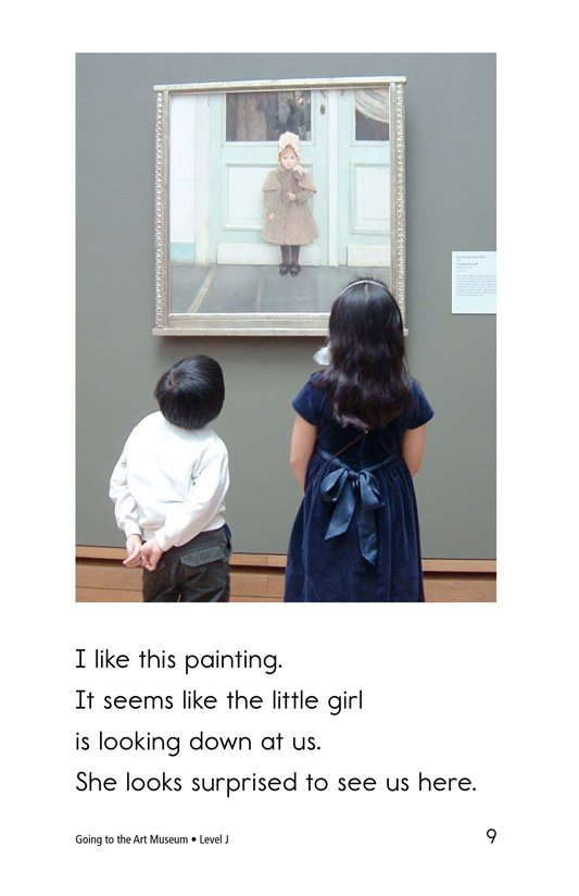 Book Preview For Going to the Art Museum Page 9