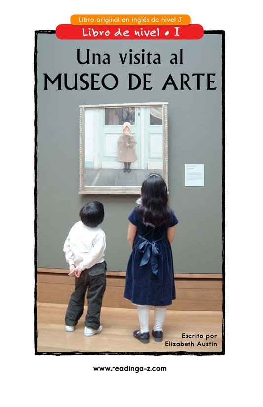 Book Preview For Going to the Art Museum Page 1