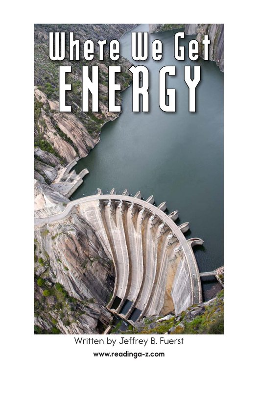 Book Preview For Where We Get Energy Page 2