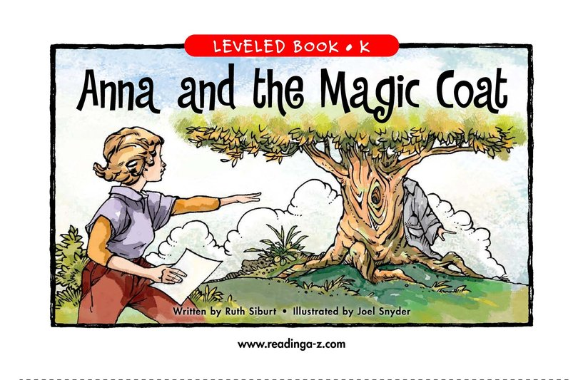 Book Preview For Anna and the Magic Coat Page 1