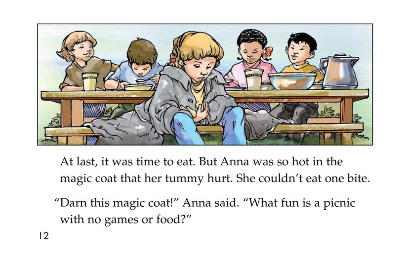 Book Preview For Anna and the Magic Coat Page 12