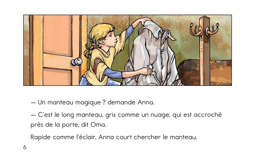 Book Preview For Anna and the Magic Coat Page 6