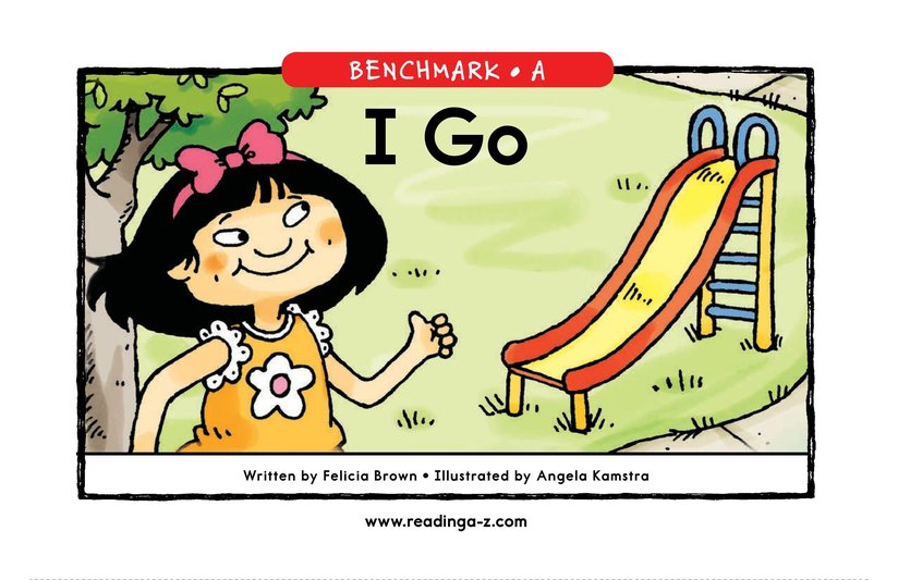 Book Preview For I Go Page 1