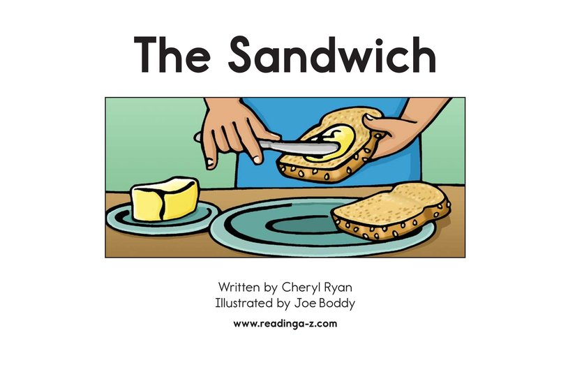 Book Preview For The Sandwich Page 2