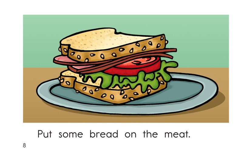 Book Preview For The Sandwich Page 8