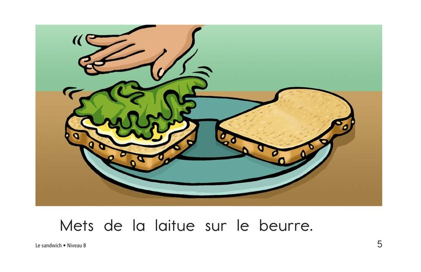 Book Preview For The Sandwich Page 5