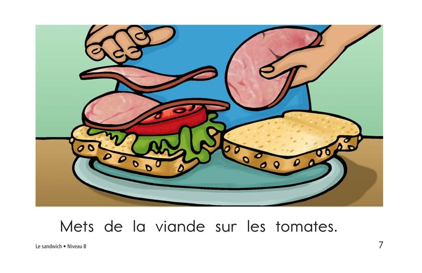 Book Preview For The Sandwich Page 7
