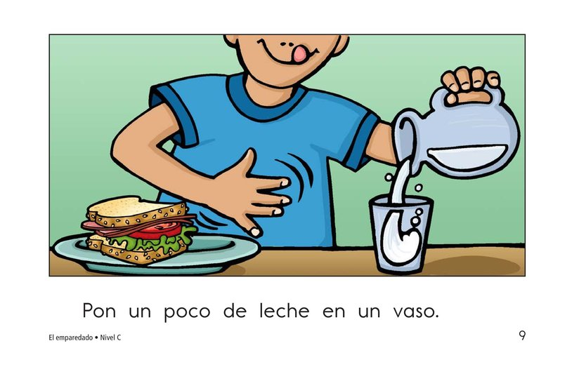Book Preview For The Sandwich Page 9
