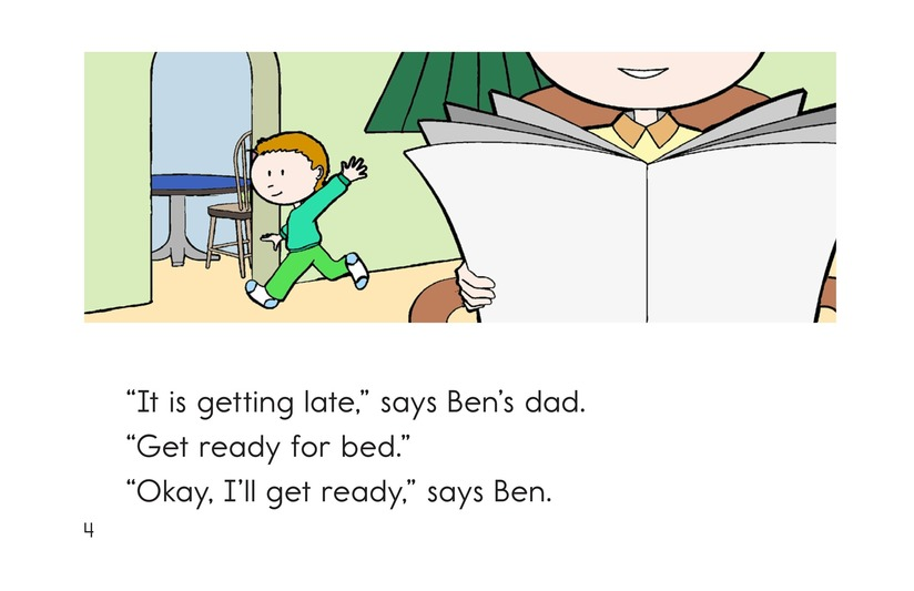 Book Preview For Time For Bed Page 4