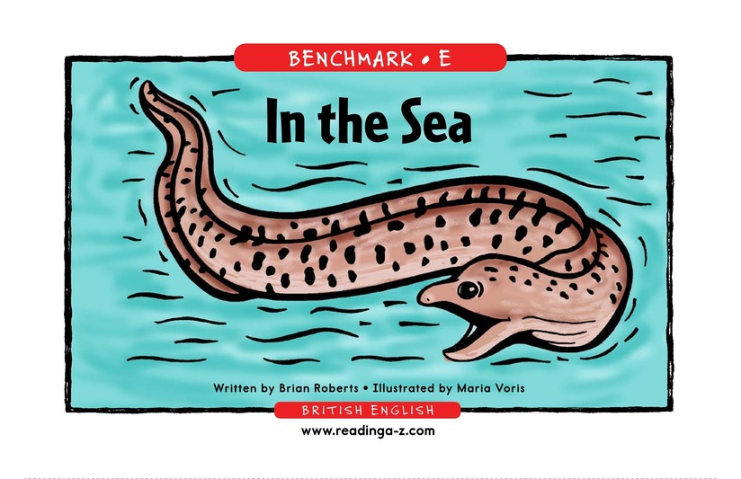 Book Preview For In the Sea Page 1