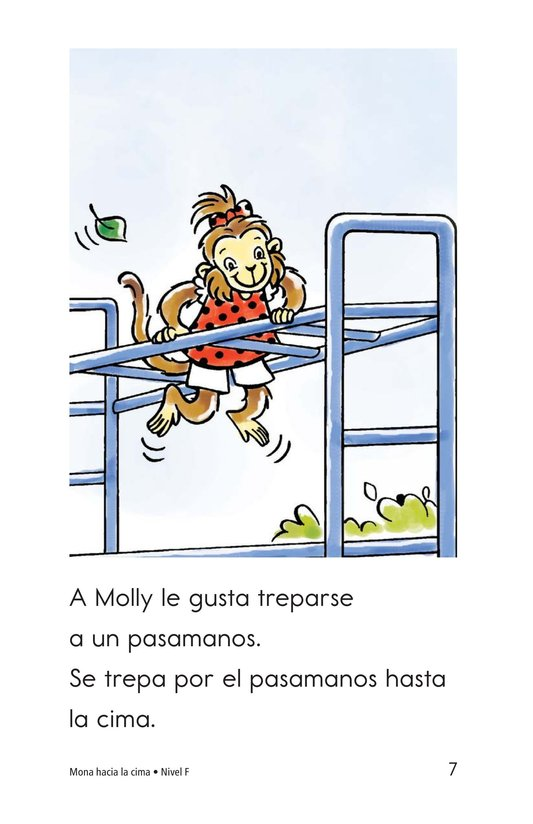 Book Preview For Monkey to the Top Page 7