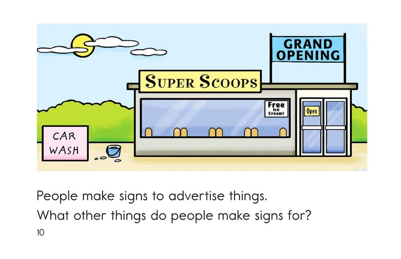 Book Preview For Signs Are Everywhere Page 10
