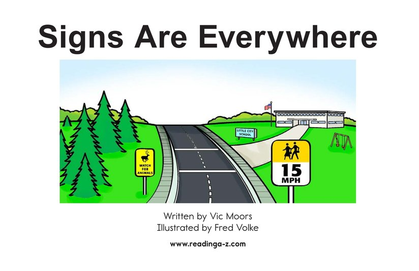 Book Preview For Signs Are Everywhere Page 2
