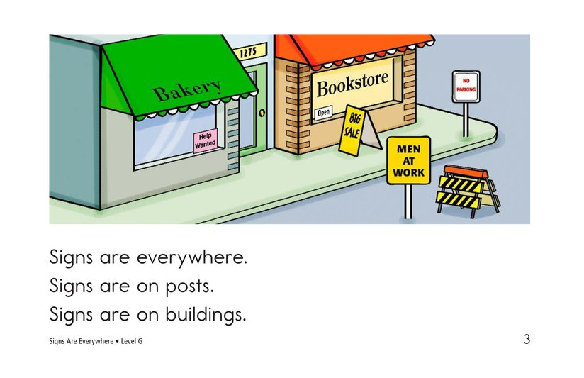 Book Preview For Signs Are Everywhere Page 3