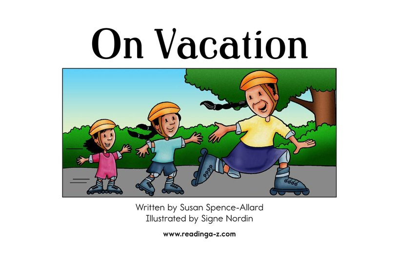 Book Preview For On Vacation Page 2