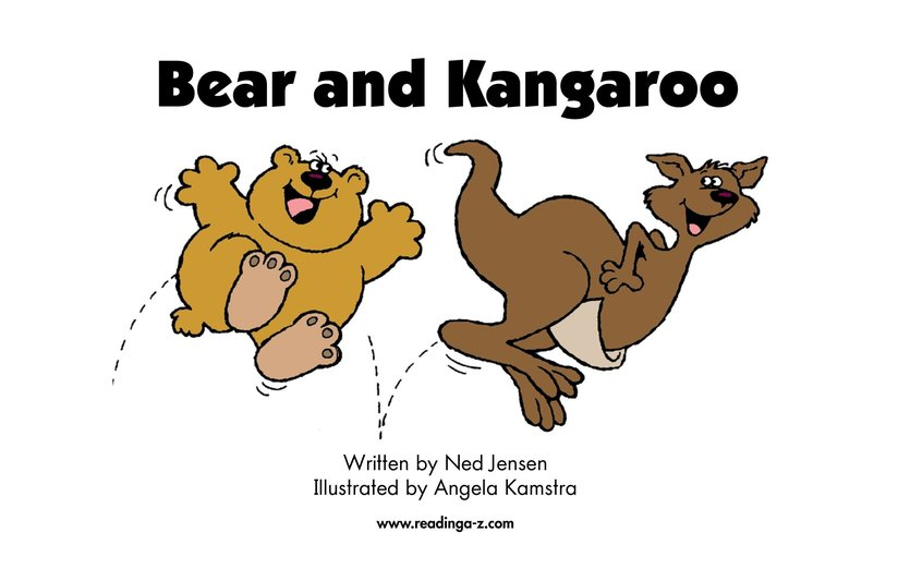 Book Preview For Bear and Kangaroo Page 2