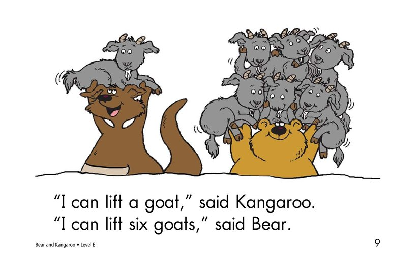 Book Preview For Bear and Kangaroo Page 9