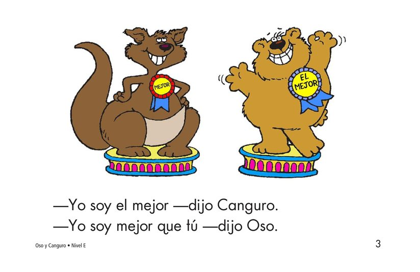 Book Preview For Bear and Kangaroo Page 3