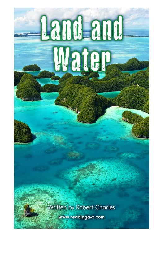 Book Preview For Land and Water Page 2