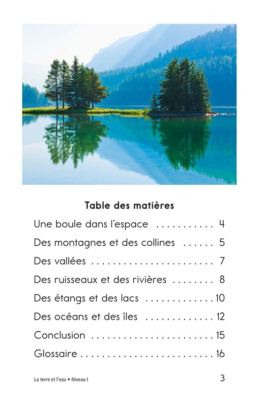 Book Preview For Land and Water Page 3