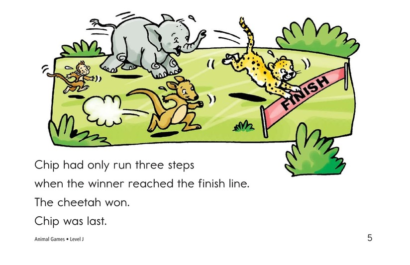 Book Preview For Animal Games Page 5