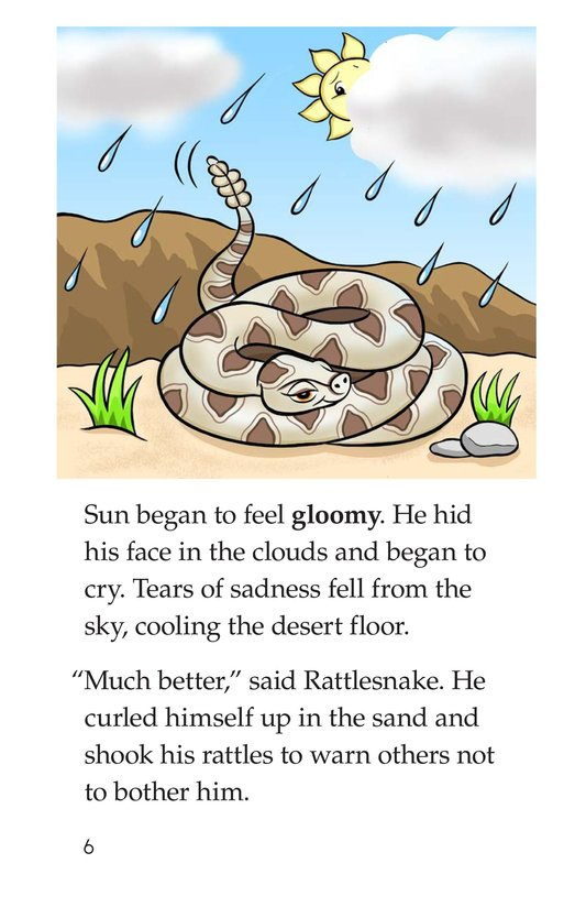 Book Preview For Go Away, Sun! Page 6