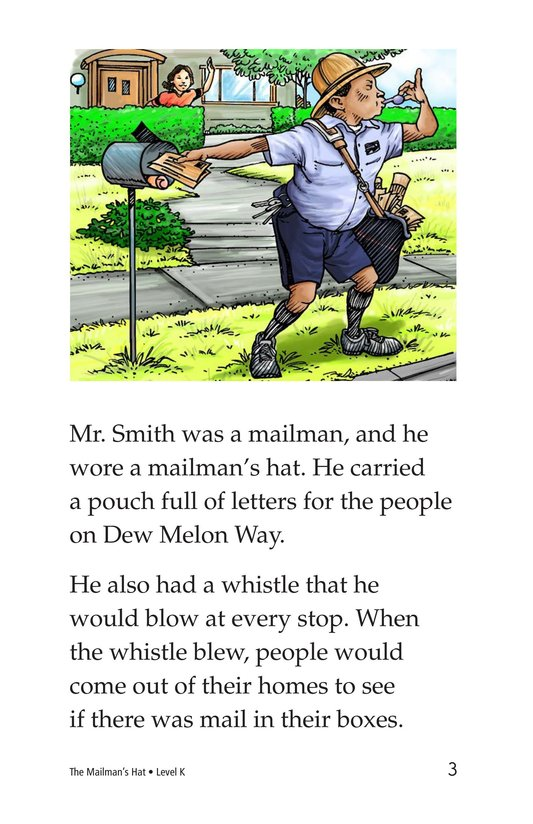Book Preview For The Mailman's Hat Page 3