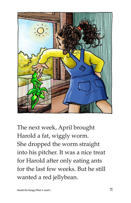 Book Preview For Harold the Hungry Plant Page 11