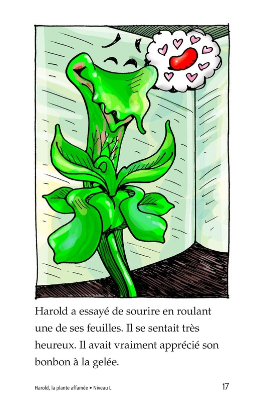 Book Preview For Harold the Hungry Plant Page 17