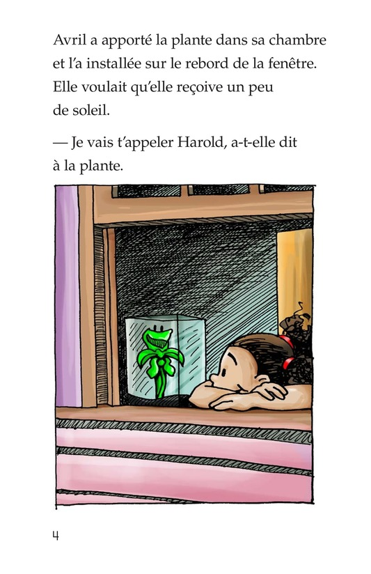 Book Preview For Harold the Hungry Plant Page 4