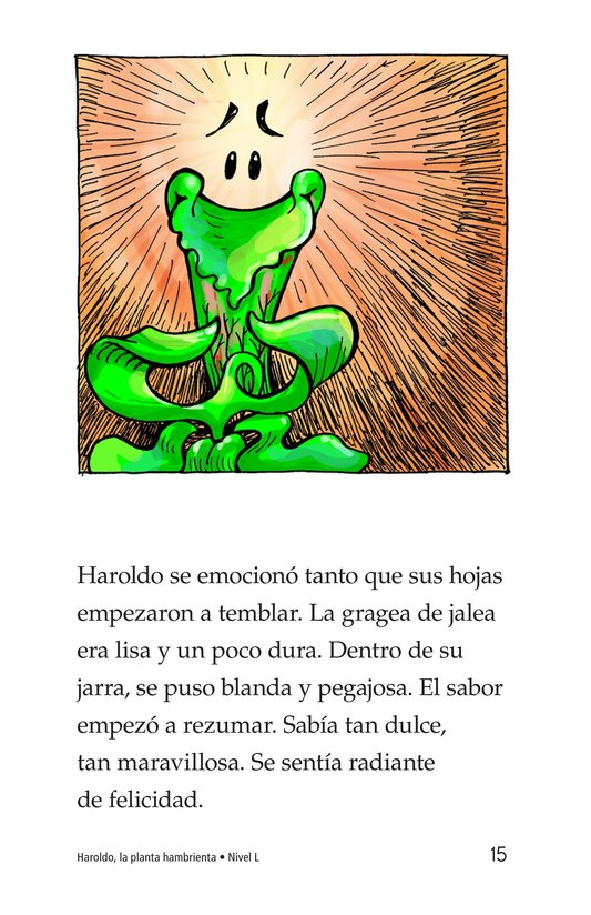 Book Preview For Harold the Hungry Plant Page 15