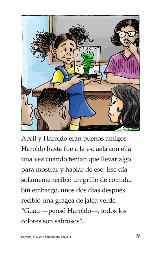 Book Preview For Harold the Hungry Plant Page 19