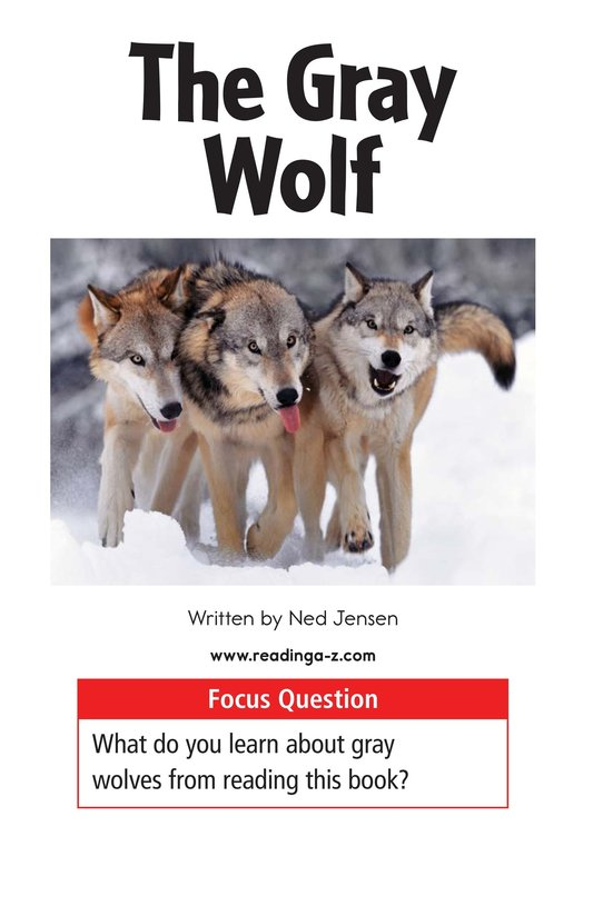 Book Preview For The Gray Wolf Page 1