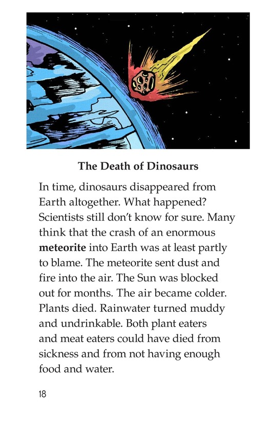 Book Preview For Dinosaurs Page 18