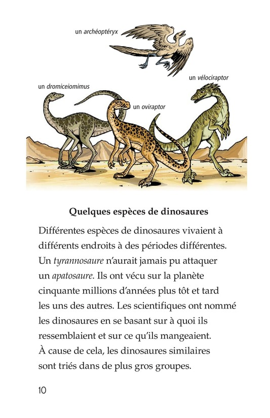 Book Preview For Dinosaurs Page 10